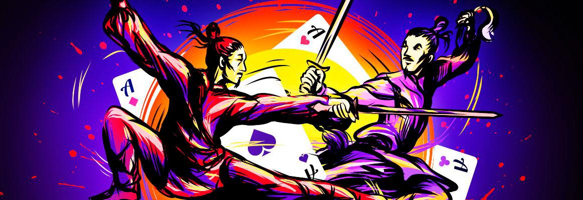 Акция воины шао линь на покердом.